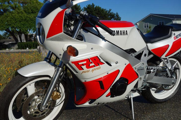 Nearly New: Ultra Low-Mileage 1989 Yamaha FZR400 for Sale