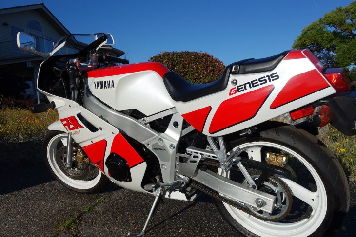 1989 Yamaha FZR400 L Rear