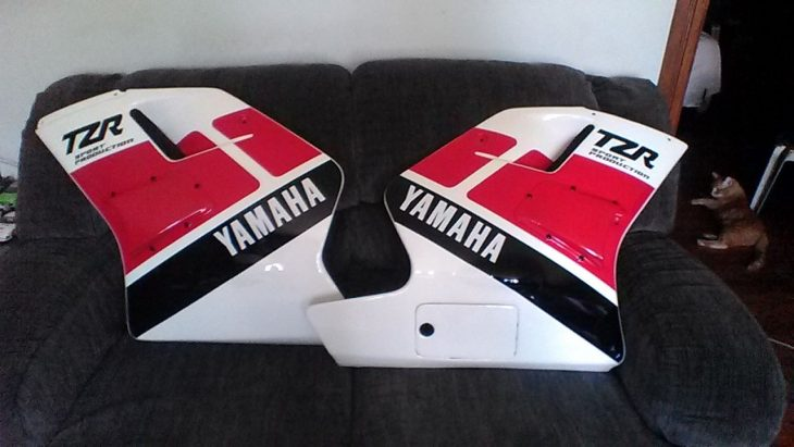 1989 Yamaha TZR250 Fairing Panels