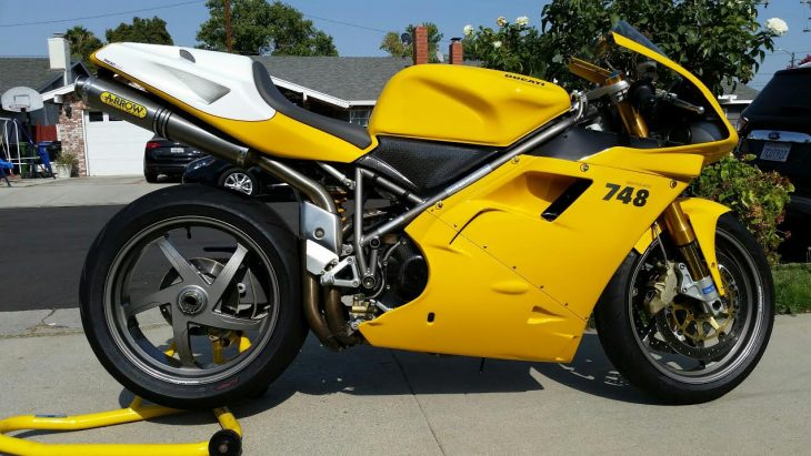 Featured Listing – 2001 Ducati 748R