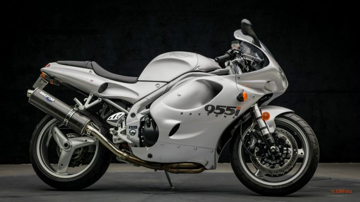 The best one: 2001 Triumph Daytona 955i with 866 miles