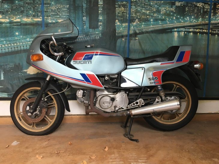 In the Beginning… 1980 Ducati Pantah 500 SL for Sale