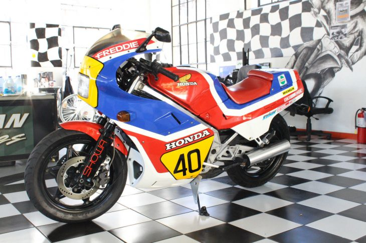 Freddie Spencer Replica: 1985 Honda NS250R for Sale