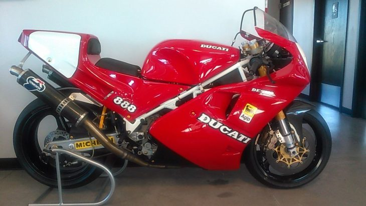 """For Off Road Use Only"": 1992 Ducati 888 Corsa for Sale"