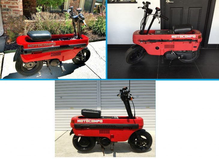 Admit it, you want one: Honda Motocompo units (3) for sale