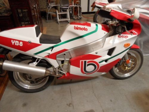 Nineties Flyer: 1991 Bimota YB8 for Sale