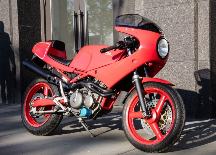 Lightweight Single: Pristine 1990 Gilera Saturno Bialbero for Sale