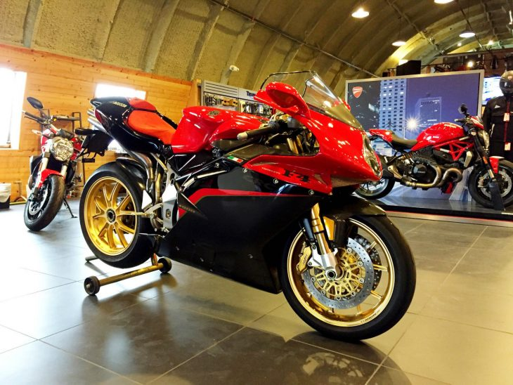 Limited Edition: 2005 MV Agusta F4 1000 Tamburini for Sale