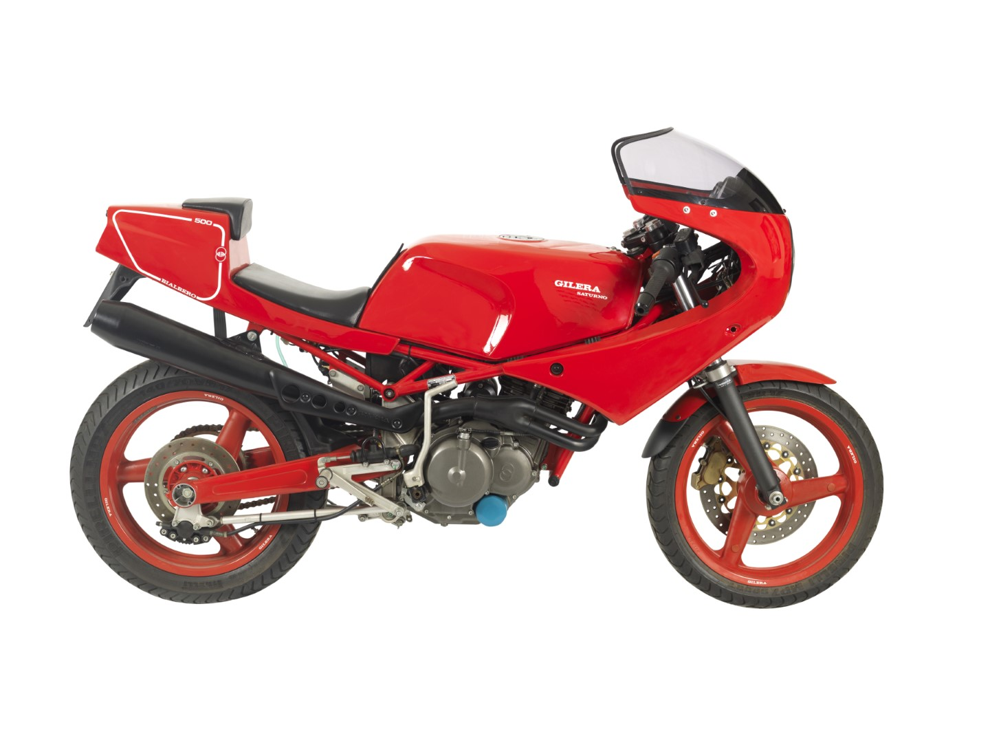 Featured Listing: Pristine 1990 Gilera Saturno Bialbero with 72kms!