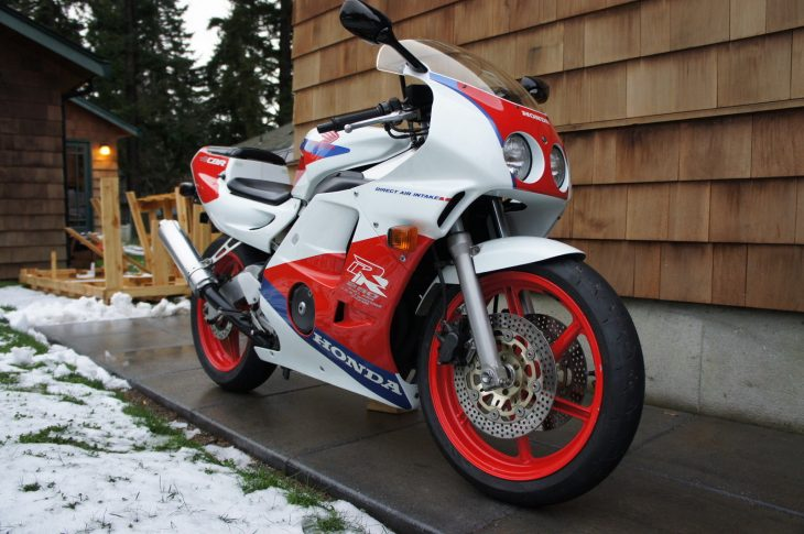 Quarter-Liter Screamer: 1990 Honda CBR250RR MC22 for Sale