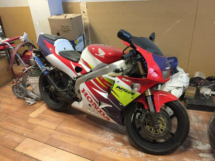 High-Tech Two-Stroke: 1996 Honda NSR250R MC28 for Sale