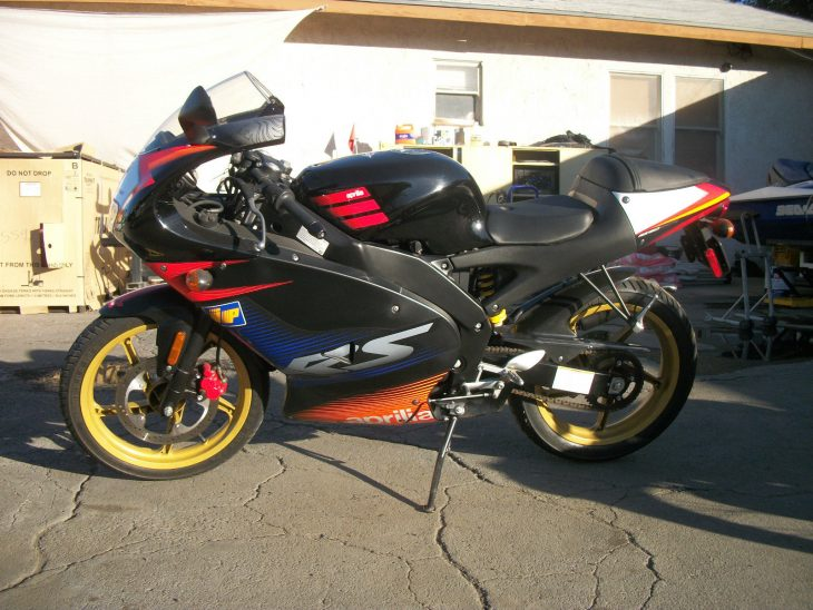 Little Wonder – 2003 Aprilia RS50