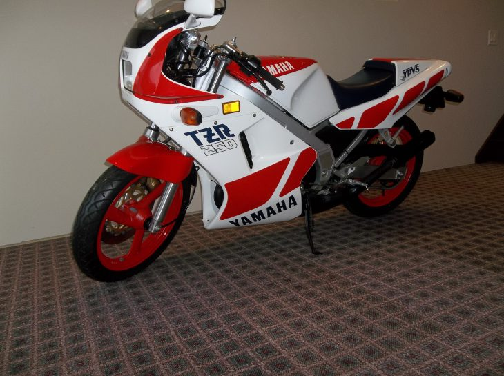 Featured Listing: Zero-Mile 1987 Yamaha TZR250 for Sale