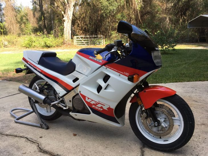 Local Hero – 1986 Honda VFR750F