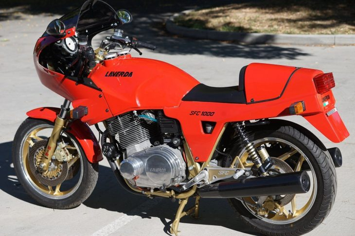 Love, Italian Style: 1985 Laverda RGS1000 SFC for Sale