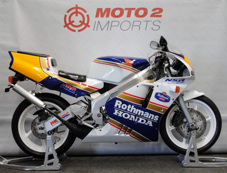 Rothmans Replica: 1991 Honda NSR250 SP for Sale