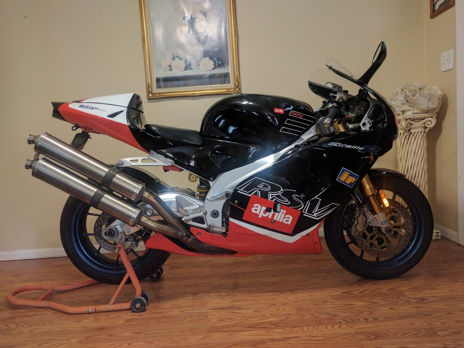 Practical Italian: 2000 Aprilia RSV Mille R for Sale - Rare SportBikes For Sale