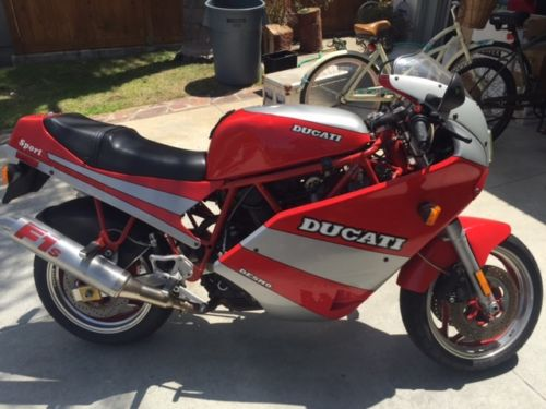 The Next Step – 1990 Ducati 750 Sport