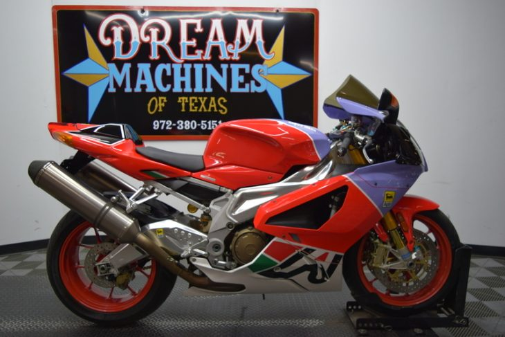 Red and What ? – 2007 Aprilia RSV 1000 Bol D'or
