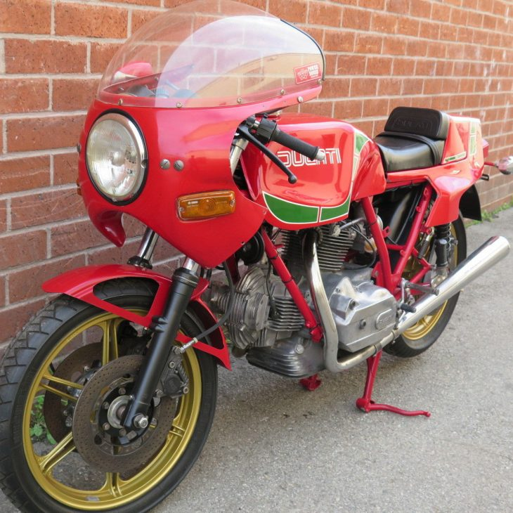 Ride it like Mike: 1980 Ducati 900 MHR