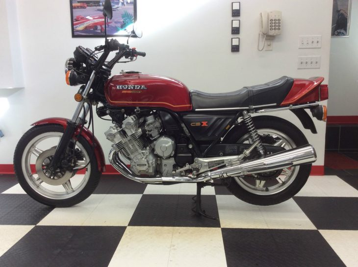 X-Rated!  1979 Honda CBX