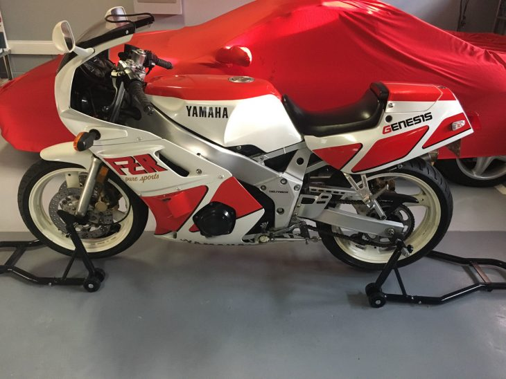 Clean Machine: 1988 Yamaha FZR400