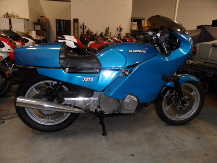 Make Mine a Triple: 1984 LAVERDA JOTA