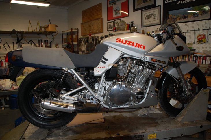 Sharp Sword: 1982 SUZUKI GS1000 KATANA