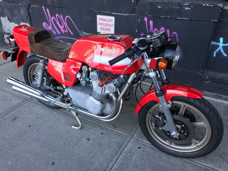Flashback Friday: 1977 MV Agusta 800 Super America for Sale