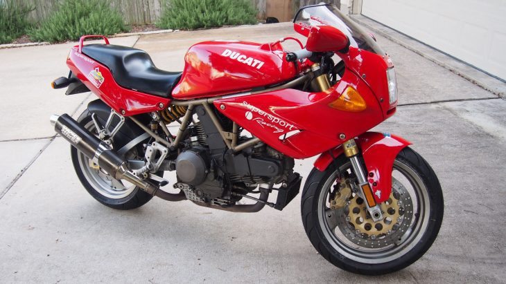 Soft Baggage – 1998 Ducati 900 SS/CR