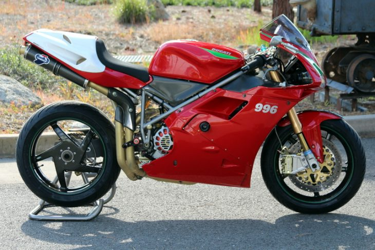 Featured Listing: 2001 Ducati 996 SPS for Sale