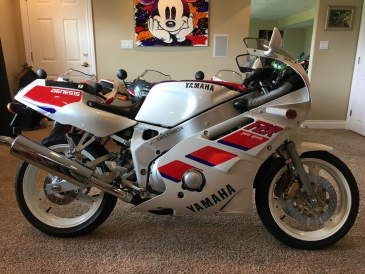 Collector Alert: 1988 Yamaha FZR400 with 94 Original Miles for Sale