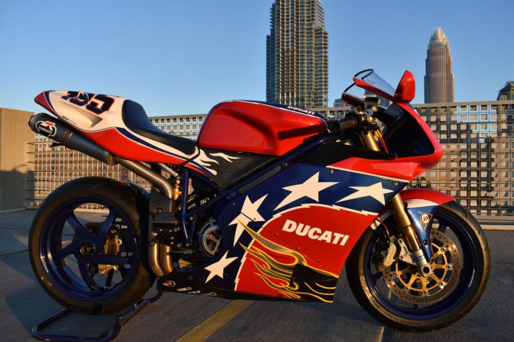 B-Boz Beauty: 2002 Ducati 998S Bostrom Edition