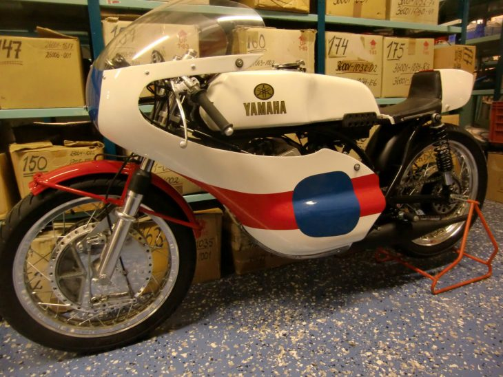 Vintage Racer: 1970 Yamaha TR2 350 for Sale