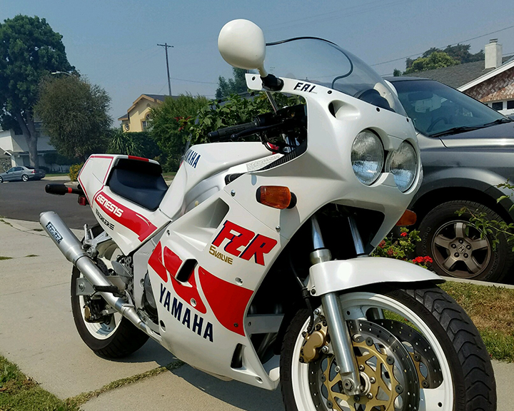 Featured Listing: 1988 Yamaha FZR750RU for Sale in California!