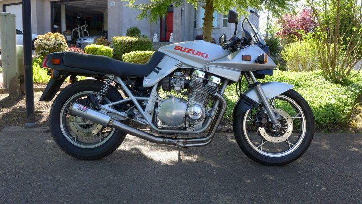 Time Machine: 1982 Suzuki Katana 1000