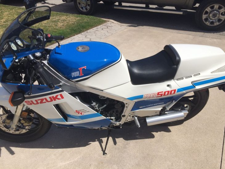 Clean, Low Mileage, All-Original Gamma: 1986 Suzuki RG500Γ for Sale