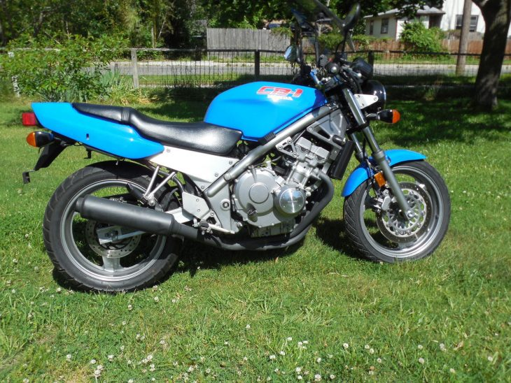 Big Bike Spec in a Small Package: 1990 Honda CB-1 for Sale