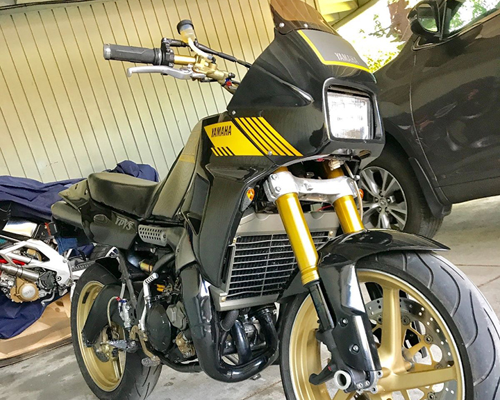 Two-Stroke Hooligan: Cali-Titled 1989 Yamaha TDR250 for Sale