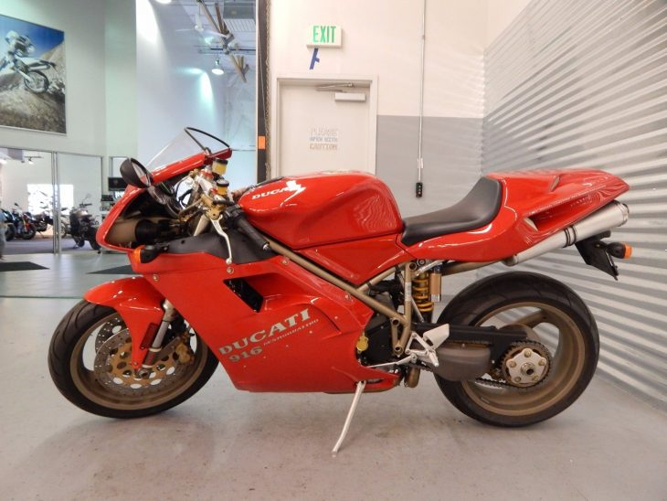 The Original: 1995 Ducati 916 for Sale