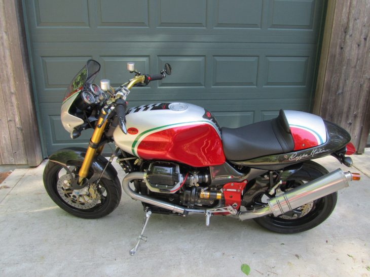 Runneth Over – 2004 Moto Guzzi V11 Coppa Italia
