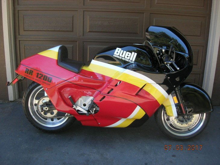 Previous Life – 1989 Buell RR1200 Battletwin