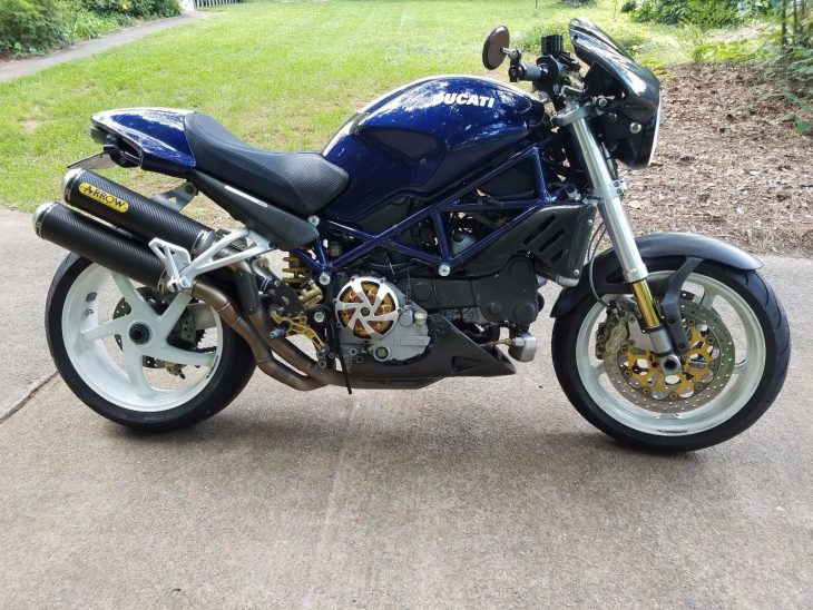 Blue By You – 2005 Ducati Monster S4R