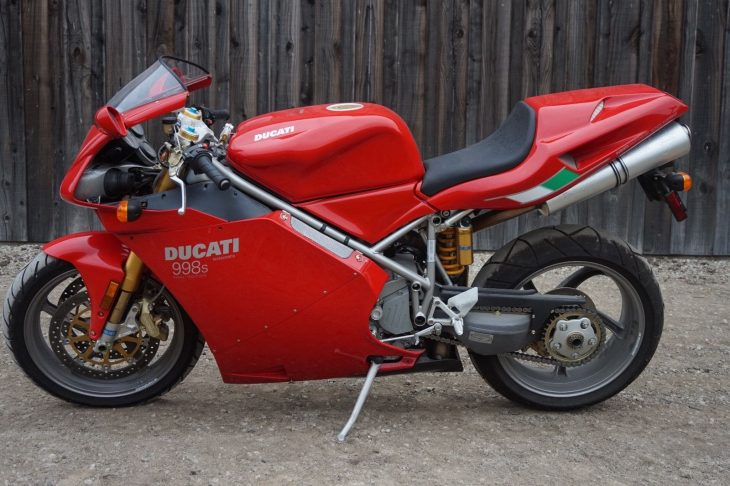 2004 Ducati 998S FE With Just 1,164 Miles !
