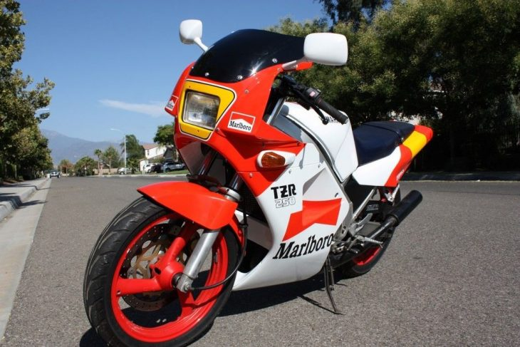 Smoke 'Em if Ya Got 'Em: Arizona-Titled 1987 Yamaha TZR250 for Sale