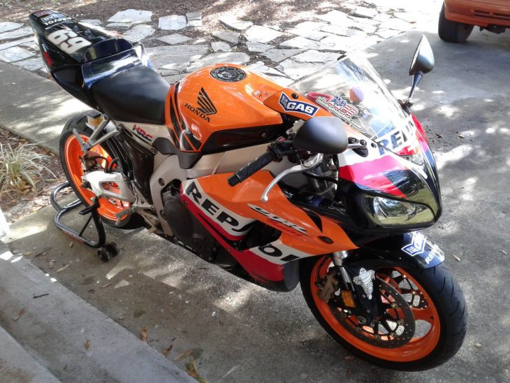 Kentucky Commemorative 2007 Honda Cbr1000rr Repsol Edition Rare