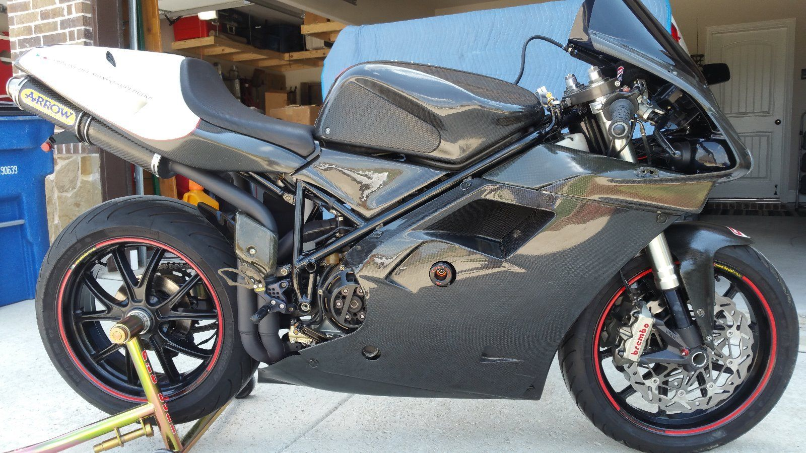 recovered racer 1998 ducati 916 rare sportbikes for sale. Black Bedroom Furniture Sets. Home Design Ideas