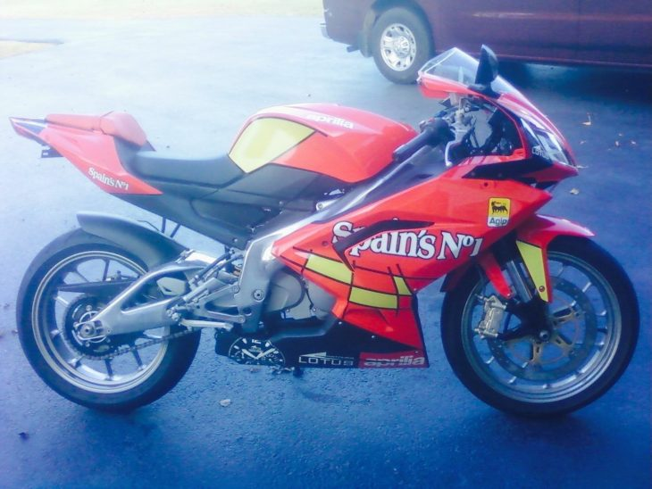 Track-only Buzzsaw: 2009 Aprilia RS125