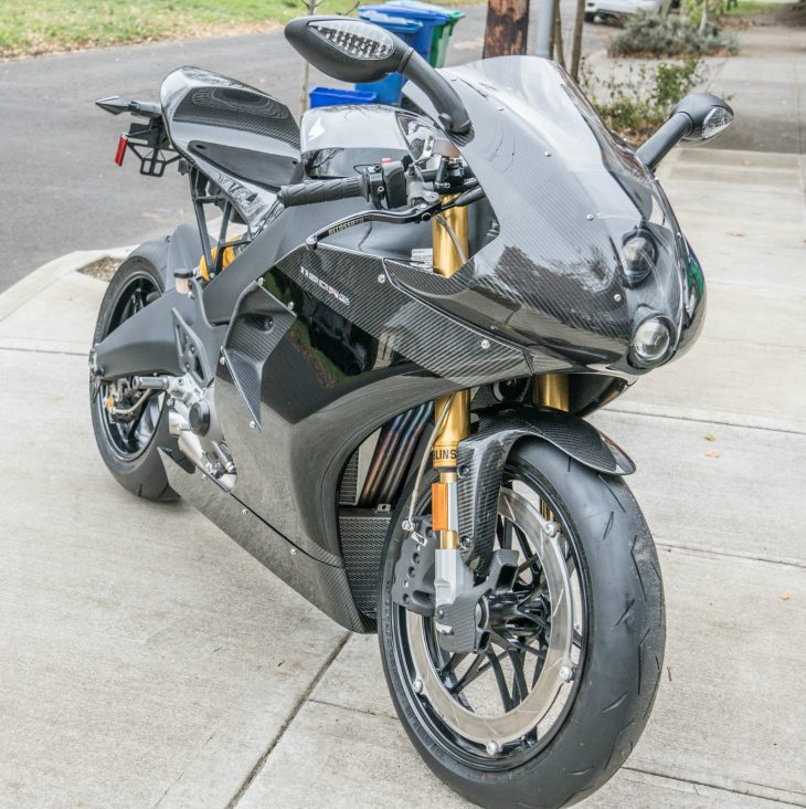 Last Great American Hero: 2012 EBR 1190RS Carbon Edition