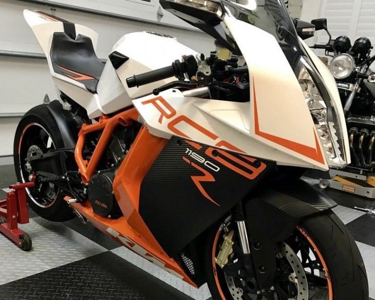 Superbike Alternative: Low Mileage 2014 KTM RC8R for Sale
